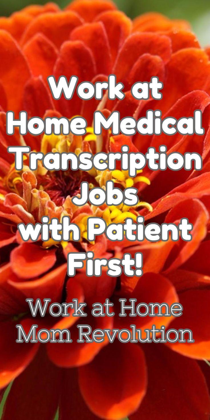 Best 25 medical transcriptionist ideas on pinterest medical home based medical transcription jobs with patient first xflitez Image collections