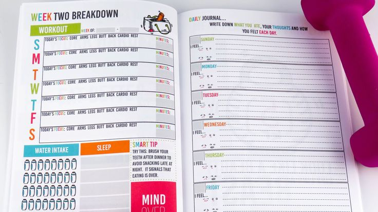SMART Fitness Personal Planner