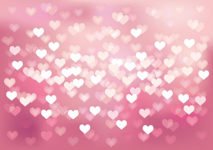 Free Vector Heart Background