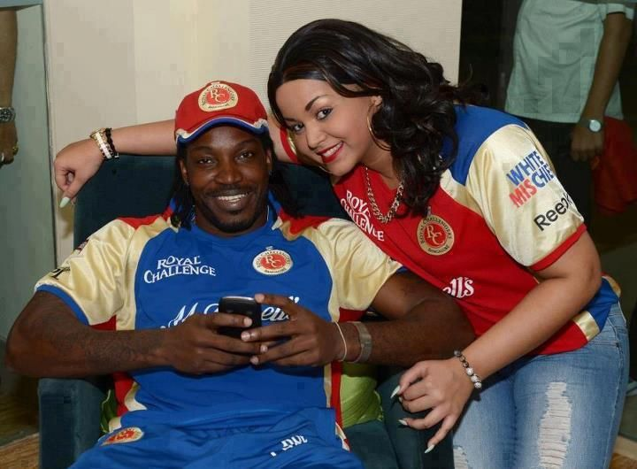 Gayle & His wife