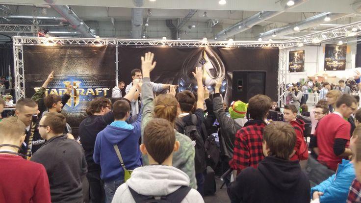 Stoisko Blizzarda podczas Falkon 2015