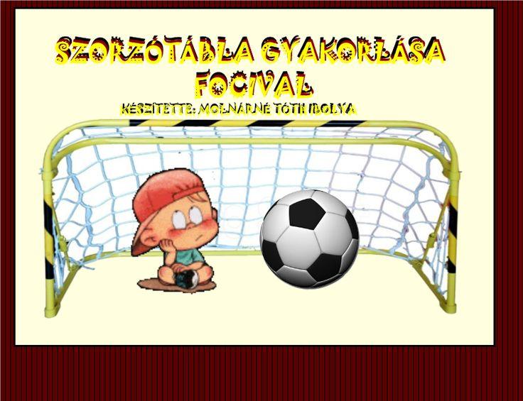 Fotó itt: Szorzótábla gyakorlása focival                             interaktív tananyag - Google Fotók
