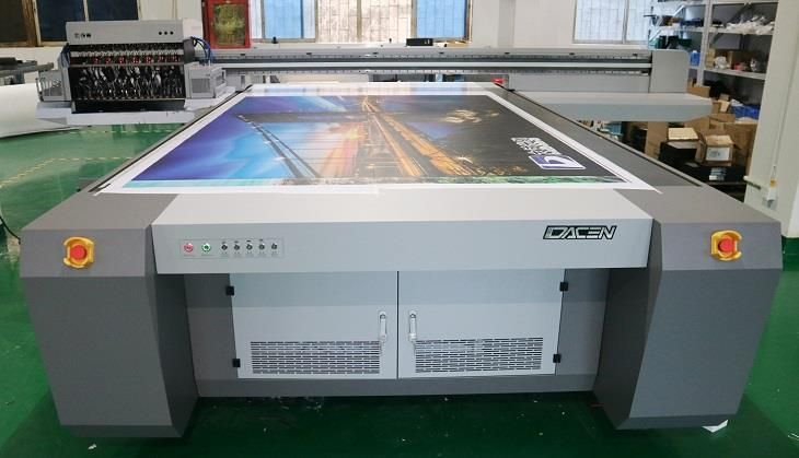 Digital Printing With LED Lamp