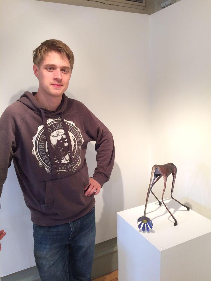 Erik Bernhardsson, konstsmed