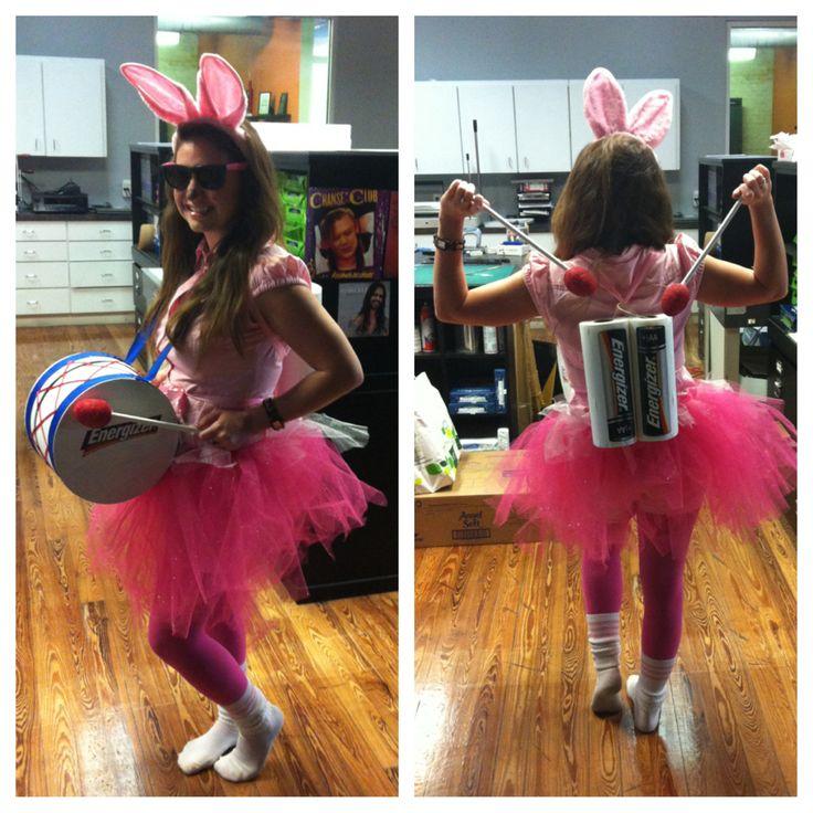 Energizer Bunny Costume DIY Halloween
