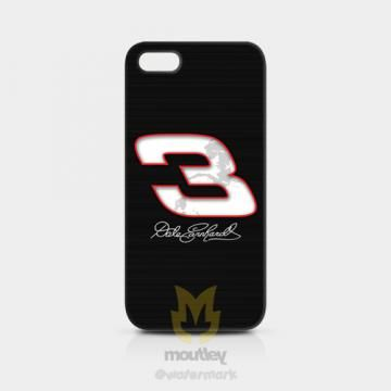 Dale Earnhardt No 3 iPhone 5/5S Hardcase by moutley for $14.00