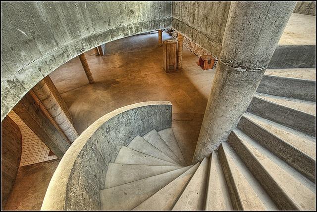 Sverre Fehn Hedmark Museum Staircase