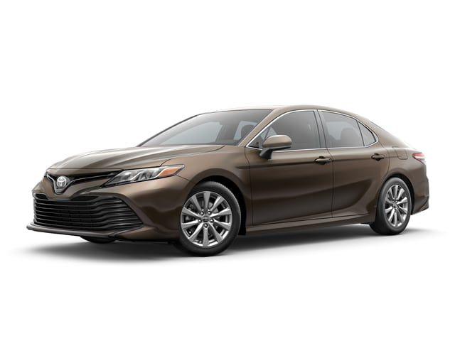 2018 Toyota Camry - Sedan - Brown Stone