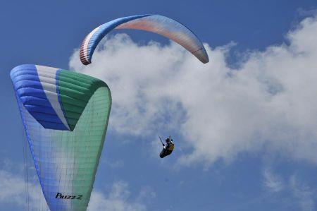 Gleitschirmfliegen oder Paragliding in der Türkei