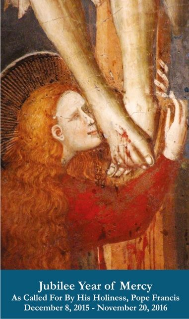 Prayer for Mercy Holy Card -Magdalene Image with Prayer on back (Many more prayer cards here.)