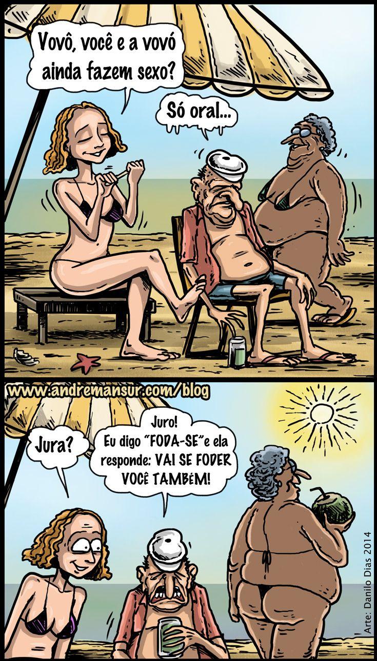 Nunca pergunte a seus avós se eles ainda fazem sexo | Humor da Terra