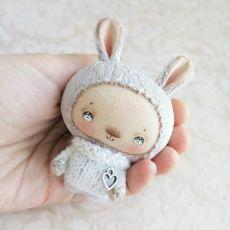 Aranyos babák.  Szerző Olga Nerodenko.  / Crafts