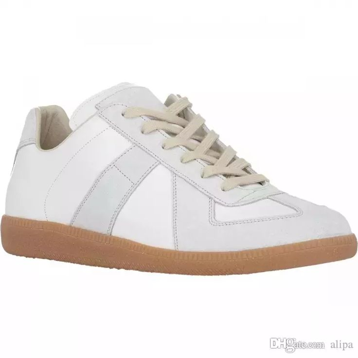 High Reviews Mens fashion maison martin margiela in white colors MALE plus size casual shoes wholesale