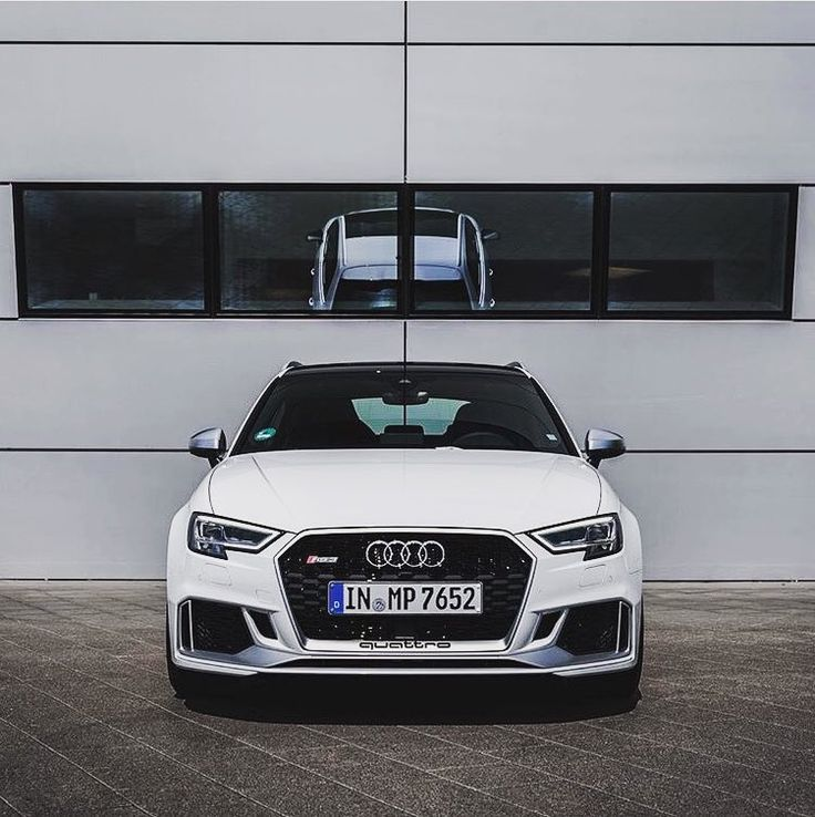 Swap the chrome bits and pieces with black optics and it's a done deal New RS3 - 400hp - 5 cylinders - white @audiforumneckarsulm @audipicture__ ---- oooo #audidriven - what else ---- . . . . #Audi #RS3 #newRS3 #newRS3sportback #whiteRS3 #AudiRS3 #RS3Sportback #quattro #4rings #drivenbyvorsprung #Audicolor #carsbyaudisport #audisport #audiforumnackarsulm #audiforum #neckarsulm