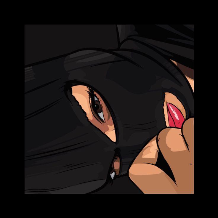 Balaclava | Art by Samona Lena info@scaredofmonsters.com http://scaredofmonsters.com http://instagram.com/ho3sz http://www.scaredofmonsters.tumblr.com/ https://society6.com/scaredofmonsters http://nabaroo.com/Samona/nabs