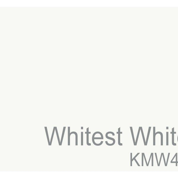 If you're looking for a crisp, pure shade to pair with bright colors, then Whitest White may be the perfect pick.