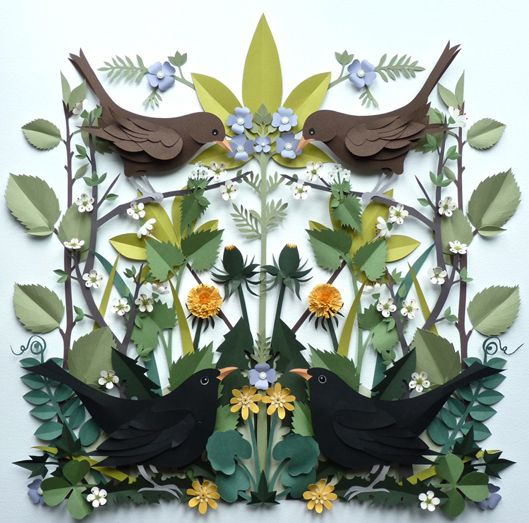 Helen Musselwhite cut paper