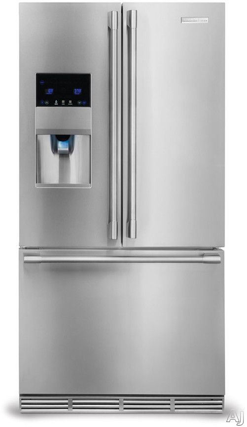 image of electrolux icon e23bc78ips 36 inch counter depth french door with 226 cu
