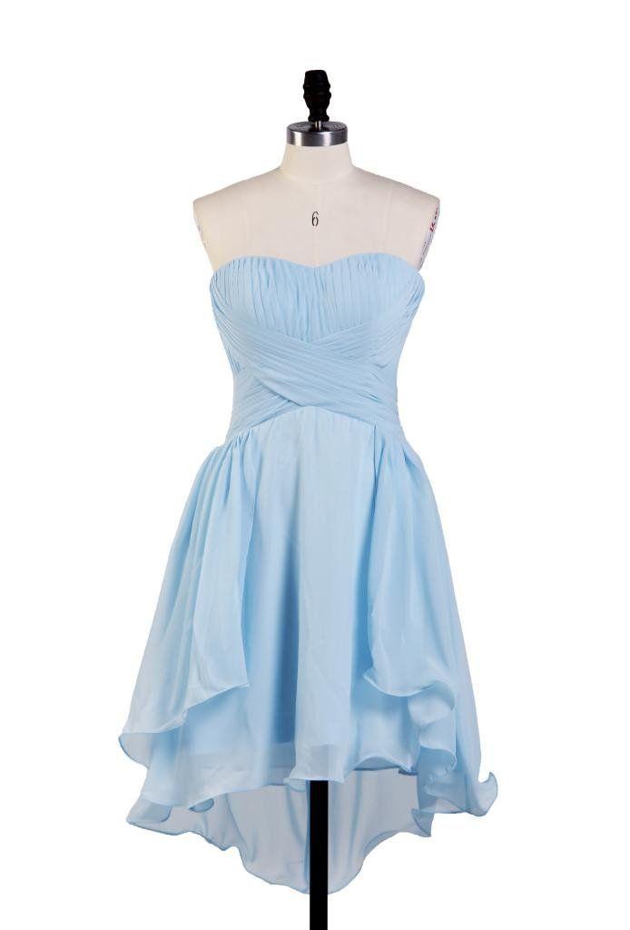 Ellames Sweetheart Junior Short Bridesmaid Homecoming Prom Chiffon Party Dresses | Amazon.com