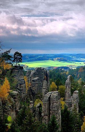 Prachovské skály (Prachov rocks), East Bohemia, Czechia