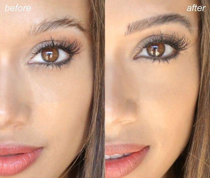 Permanent Make-up - Vorher und nachher