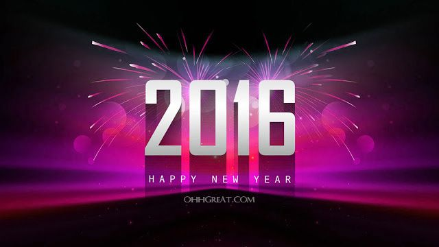 Happy New Year Wishes 2016 in English - Ohh Great