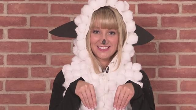 Easy Animal Costumes | Sheep costumes are easy to make, and can be used for children's or ...