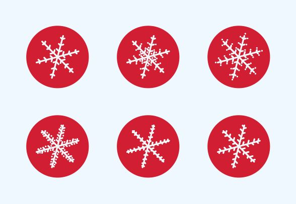 Download these cute Snowflakes vector icons and more at https://www.iconfinder.com/lsedesigns