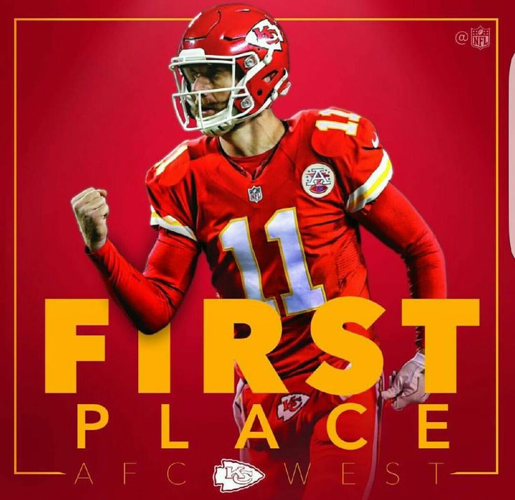 Kansas City Chiefs First Place in AFC West