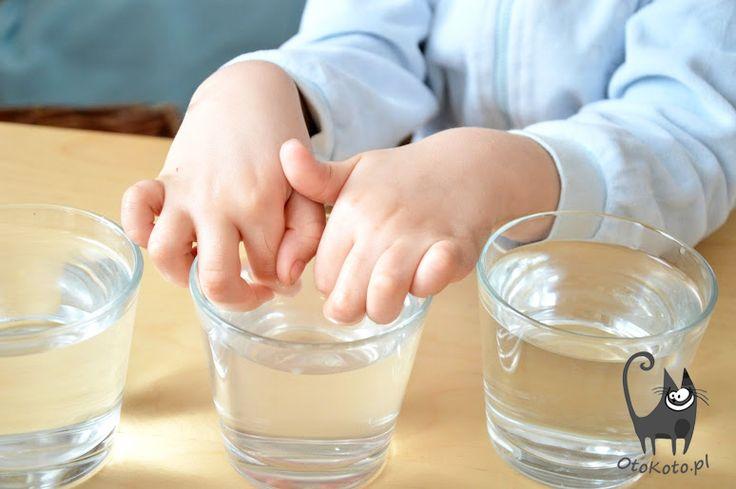 Zabawy dla dzieci - eksperymenty  dla maluchów