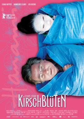 """Kirschblüten - Hanami"" (Cherry Blossoms)  is a 2008 German film directed by Doris Dörrie.The story culminates in a pilgrimage to Mount Fuji in the midst of the cherry blossom season, a celebration of beauty, impermanence, and new beginnings."