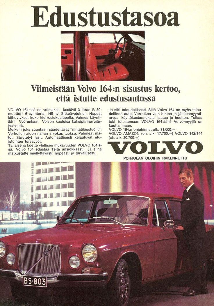70-luvulta, päivää !: Volvo 164