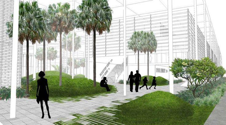 Green Square Aquatic Centre (Entry)