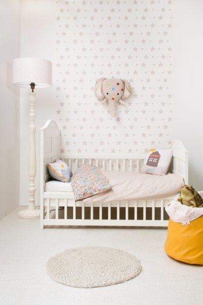 { Today I ♥ } Les murs étoilés dans la chambre des enfants   www.decocrush.fr