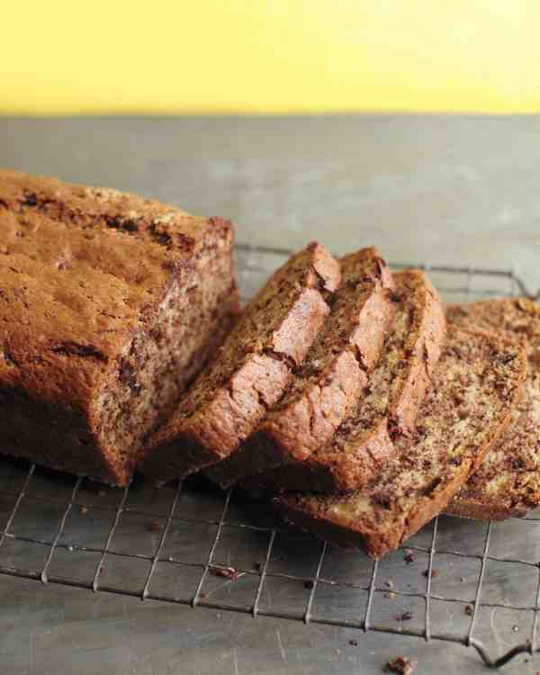 Martha Stewart's Banana Bread is the best recipe I have ever used! I sub half of the flour with whole wheat flour, and half the sugar with brown sugar. It's AWESOME!
