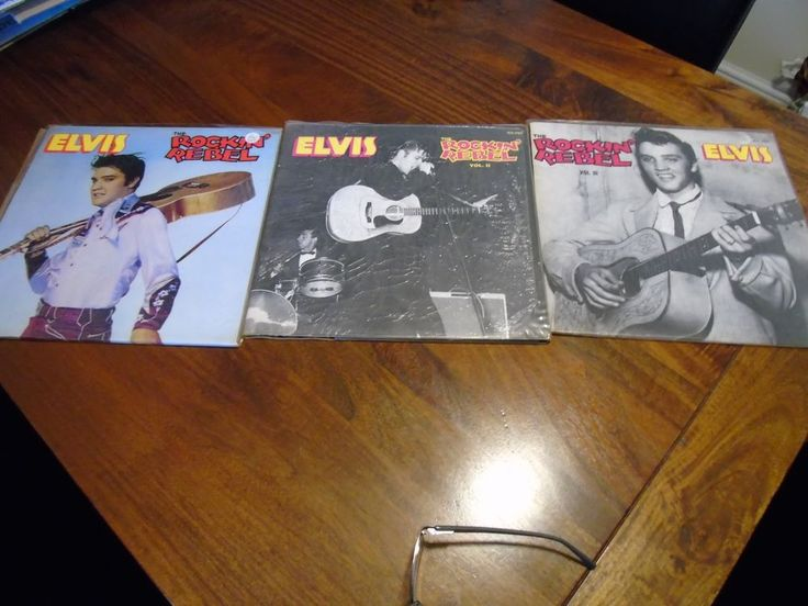Elvis collection The Rockin Rebel All three Vols ,dont miss out!!!! in Music, Records, Albums/ LPs | eBay