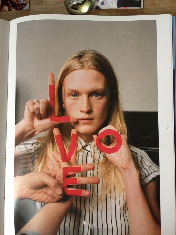 LOVE by Tim Walker