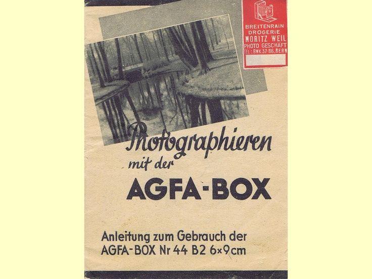 Photographieren mit der Agfa-Box