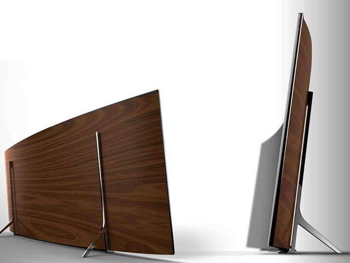 "Samsung TV 105"" Curved UHD"