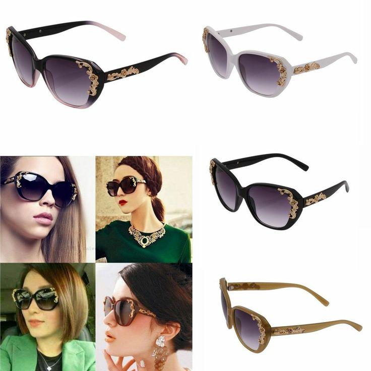 Retro Classic Men Women Shades Lenses Aviator Glasses Frame Eyewear Sunglasses