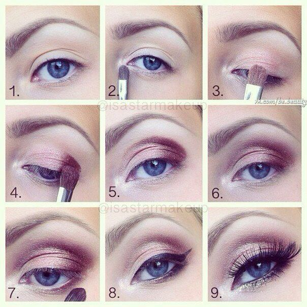 Bridal Eye Makeup Images Step By Step : Eye Makeup step by step Makeup Pinterest Eyes, Eye ...