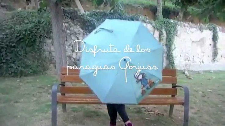 #Paraguas #Gorjuss The Foxes https://www.tiendagorjuss.com/