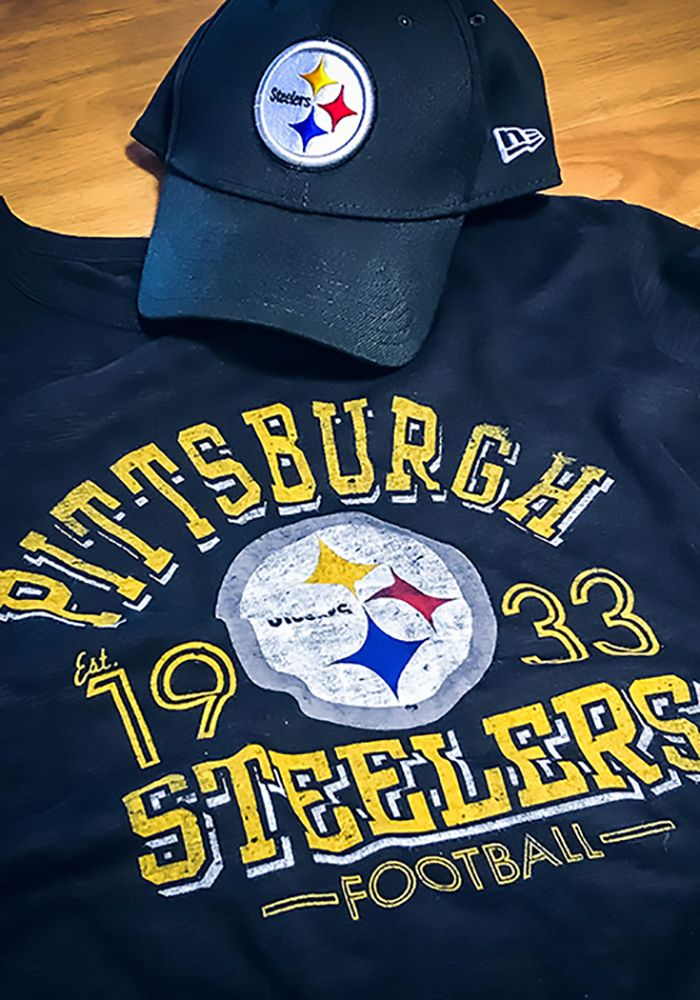 f5e6f0237fe  47 Pittsburgh Steelers Mens Black Number One Long Sleeve Fashion T Shirt  Support your Pittsburgh Steelers in this Black Long Sleeve Fashion Tee!