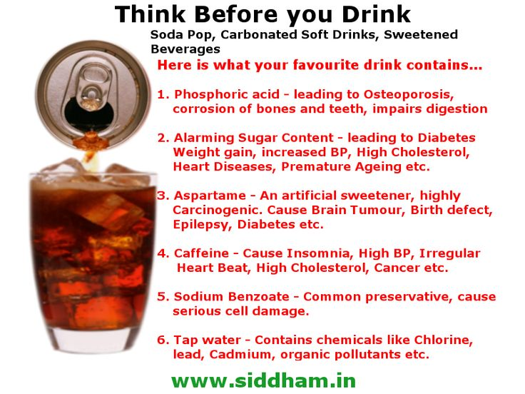 Side Effects Of Carbon Dioxide In Drinks