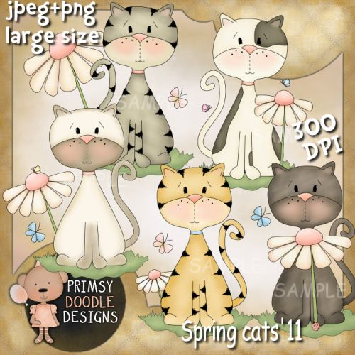 11-Spring Cats