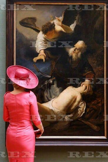 Dutch Royals visit Munich, Germany - 13 Apr 2016  Queen Maxima of The Netherlands 13 Apr 201