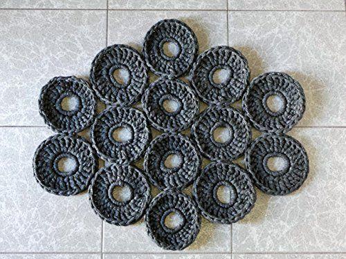 """Alfombra Trapillo """"Hexagon"""""""