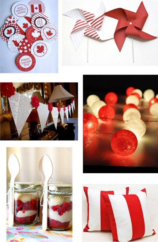 canada day crafts and decorations