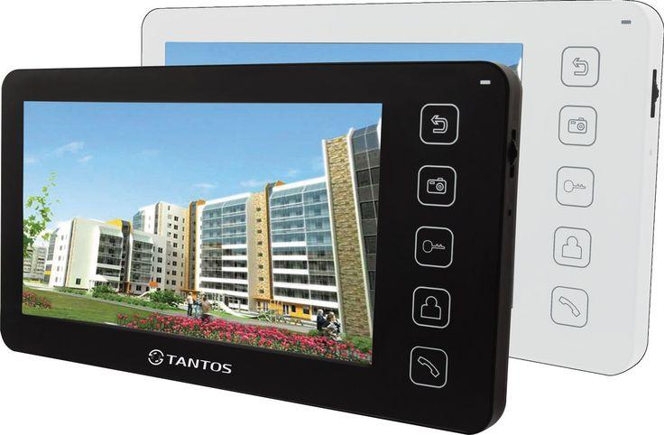 Монитор видеодомофона Tantos Prime Prime Tantos Prime black дизайн монитора прост и изящен, кнопочный джойстик позволяет общаться с монитором, как с сотовым телефоном. Цветной видеодомофон без трубки. Сочетает в себе самые передовые технологии в домофонных системах. Данный видеомонитор работает со всеми самыми популярными цветными вызывными панелями. К видеодомофофону подключается до 2-х вызывных панелей и до 2-х дополнительных видеокамер помимо подключенных панелей.Меню управления Tantos…