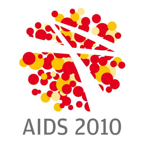 This is the logo type for the Aids 2010 campaign.  It uses simple contrast in colors.  Also it plays into the virus pattern with the dots.  Also uses the negative space to identify the aids ribbon that symbolizes its support.